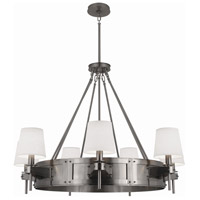 Robert Abbey Caspian 7 Light Chandelier in Dan D2008