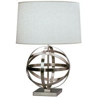 Robert Abbey D2161 Lucy 29 inch 150 watt Dark Antique Nickel Table Lamp Portable Light in Oyster Linen