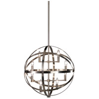 Robert Abbey D2164 Lucy 8 Light 22 inch Dark Antique Nickel Pendant Ceiling Light