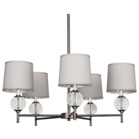 Robert Abbey Latitude 5 Light Chandelier in Dan D3376