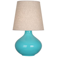 Egg Blue Ceramic June Table Lamps