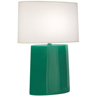 Robert Abbey EG03 Victor 26 inch 100.00 watt Emerald Glazed Ceramic Table Lamp Portable Light
