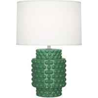 Robert Abbey EG801 Dolly 21 inch 150 watt Emerald Green Accent Lamp Portable Light