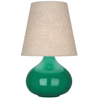 Robert Abbey EG91 June 24 inch 150 watt Emerald Green Accent Lamp Portable Light