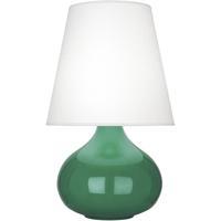 Robert Abbey EG93 June 24 inch 150 watt Emerald Green Accent Lamp Portable Light