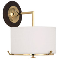Robert Abbey Edwin 1 Light Wall Sconce in Polished Brass G2743