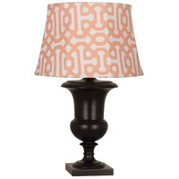 Orange and Brown Table Lamps