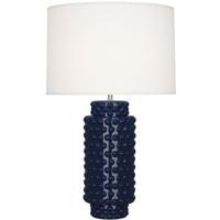 Robert Abbey MB800 Dolly 28 inch 150 watt Midnight Blue Table Lamp Portable Light in Fondine