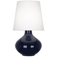 Robert Abbey MB993 June 31 inch 150 watt Midnight Blue Table Lamp Portable Light in Oyster Linen