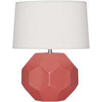 Robert Abbey ML02 Franklin 16 inch 60.00 watt Melon Glazed Ceramic Accent Lamp Portable Light