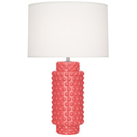 Robert Abbey Melon Ceramic Table Lamps