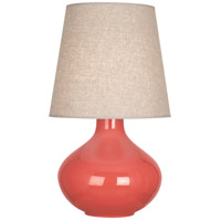 Robert Abbey ML991 June 31 inch 150 watt Melon Table Lamp Portable Light in Buff Linen