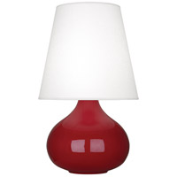 Robert Abbey OX93 June 24 inch 150 watt Oxblood Accent Lamp Portable Light