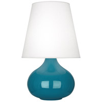 Robert Abbey Peacock June Table Lamps