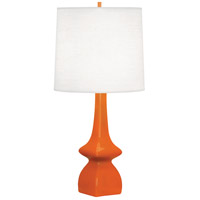 Robert Abbey PM210 Jasmine 31 inch 150 watt Pumpkin Table Lamp Portable Light
