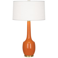 Robert Abbey PM701 Delilah 34 inch 150 watt Pumpkin Table Lamp Portable Light thumb