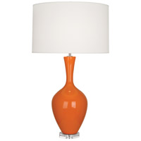 Robert Abbey PM980 Audrey 34 inch 150 watt Pumpkin Table Lamp Portable Light thumb