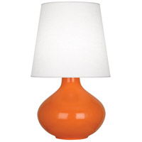 Pumpkin Ceramic June Table Lamps