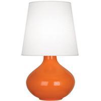 Robert Abbey PM993 June 31 inch 150 watt Pumpkin Table Lamp Portable Light in Oyster Linen