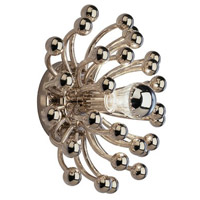 Robert Abbey S1305 Anemone 1 Light 13 inch Polished Nickel Flush Mount Ceiling Light
