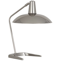 Enterprise 20 inch 100 watt Polished Nickel Table Lamp Portable Light