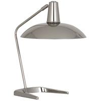 Robert Abbey S1549 Enterprise 20 inch 100 watt Polished Nickel Table Lamp Portable Light