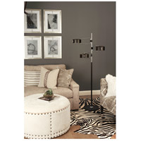 Robert Abbey S1550 Simon 68 inch 60 watt Polished Nickel Floor Lamp Portable Light alternative photo thumbnail