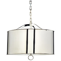 Robert Abbey S1912 Porter 3 Light 15 inch Polished Nickel Pendant Ceiling Light