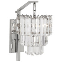 Robert Abbey S1915 Spectrum 2 Light 10 inch Polished Nickel Wall Sconce Wall Light