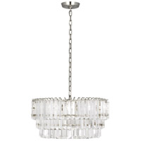 Robert Abbey S1918 Spectrum 2 Light 15 inch Polished Nickel Pendant Ceiling Light
