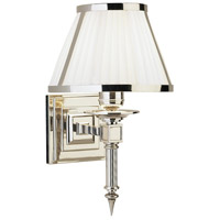 Robert Abbey S1999 Chase 1 Light 8 inch Polished Nickel Wall Sconce Wall Light thumb