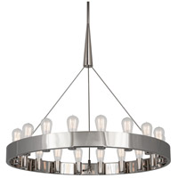 Robert Abbey S2091 Rico Espinet Candelaria 18 Light 15 inch Polished Nickel Chandelier Ceiling Light