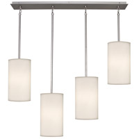 Robert Abbey S2156 Echo 4 Light 8 inch Stainless Steel Chandelier Ceiling Light