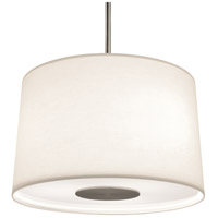 Robert Abbey S2189 Echo 3 Light 7 inch Stainless Steel Pendant Ceiling Light