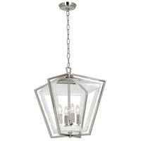 Casper 4 Light 16 inch Polished Nickel Pendant Ceiling Light