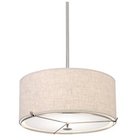 Robert Abbey Edwin 2 Light Pendant in Lnn S2742