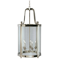 Robert Abbey S3338 Blake 5 Light 19 inch Polished Nickel Pendant Ceiling Light