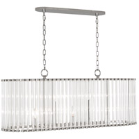 Robert Abbey S3343 Cole 5 Light 42 inch Polished Nickel Chandelier Ceiling Light