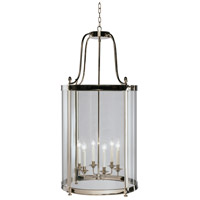 Robert Abbey S3362 Blake 6 Light 23 inch Polished Nickel Pendant Ceiling Light thumb