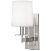 Alice 1 Light 6 inch Polished Nickel with Lucite Wall Sconce Wall Light
