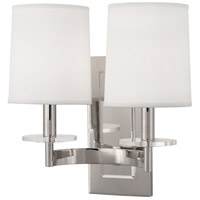 Alice 2 Light 14 inch Polished Nickel with Lucite Wall Sconce Wall Light