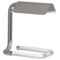Robert Abbey S3383 Alice 12 inch Polished Nickel Table Lamp Portable Light thumb