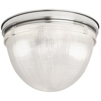 Robert Abbey S3392 Brighton 2 Light 15 inch Polished Nickel Flushmount Ceiling Light