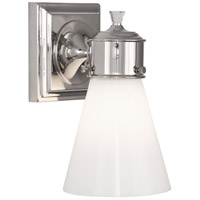 Robert Abbey S340 Williamsburg Blaikley 1 Light 6 inch Polished Nickel Wall Sconce Wall Light