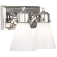 Williamsburg Blaikley 2 Light 13 inch Polished Nickel Wall Sconce Wall Light