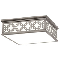 Robert Abbey S371 Williamsburg Dickinson 2 Light 15 inch Antique Silver Flushmount Ceiling Light