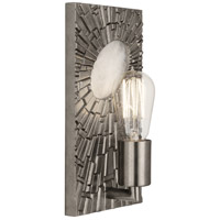 Robert Abbey S418 Goliath 1 Light 6 inch Antiqued Polished Nickel with White Rock Crystal Wall Sconce Wall Light
