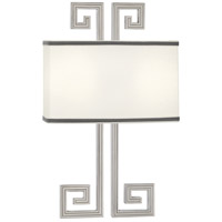 Robert Abbey S443 Jonathan Adler Mykonos 2 Light 12 inch Polished Nickel Wall Sconce Wall Light