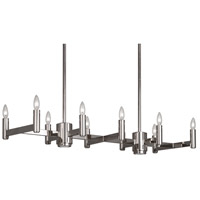 Delany 12 Light 41 inch Polished Nickel Chandelier Ceiling Light