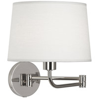 Robert Abbey S464 Koleman 1 Light 5 inch Polished Nickel Wall Sconce Wall Light